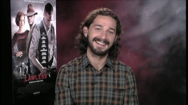 Shia LaBeouf: 'Lawless' co-star like 'X-Men'