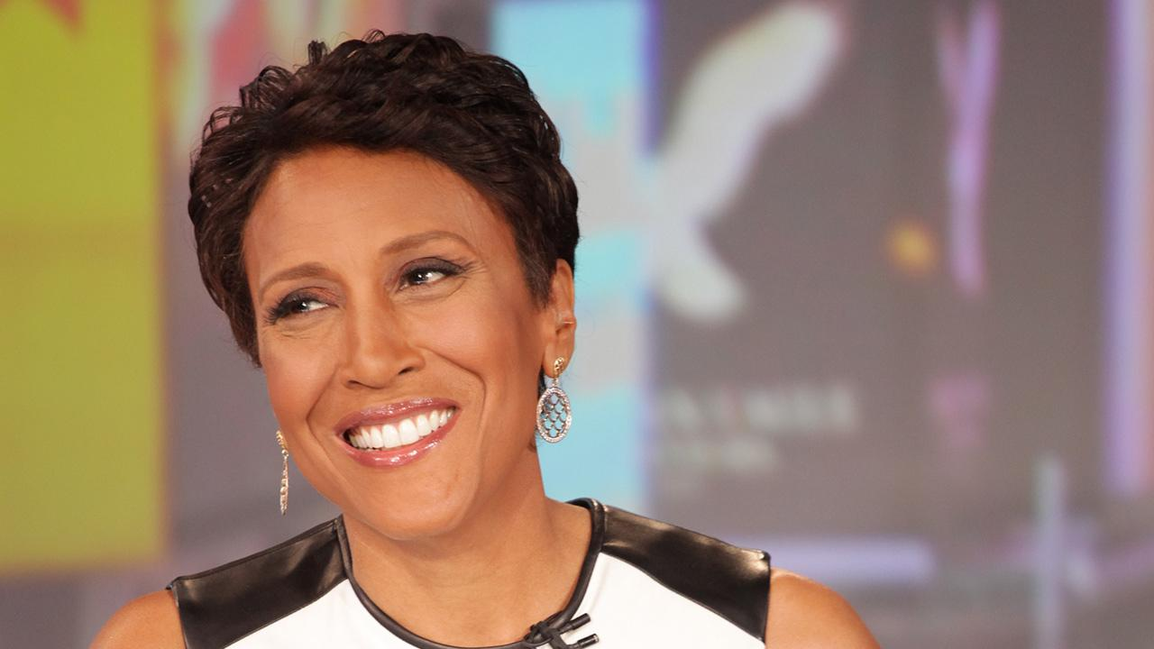 Robin Roberts appears on Good Morning America on Aug. 30, 2012.