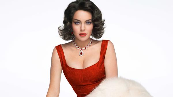 Lindsay Lohan appears in a promotional photo for the 2012 Lifetime Original Movie, 'Liz and Dick.'