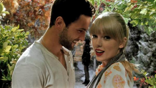 Taylor Swift appears in a still from her 2012 music video for We Are Never Ever Getting Back Together. - Provided courtesy of Big Machine