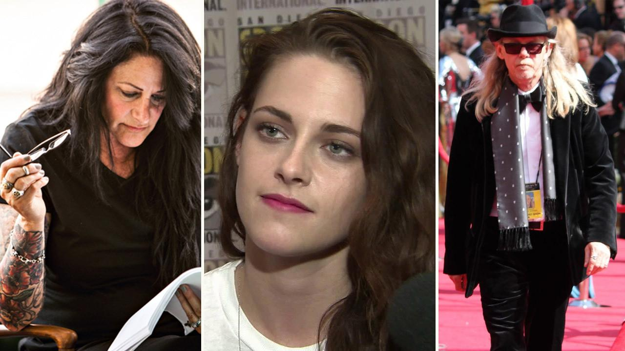 Jules Stewart appears in an undated photo from her Twitter account. / Kristen Stewart appears in a photo at San Diego Comic-Con on July 12, 2012. / John Stewart appears in a 2010 photo taken by Keith Simanton, posted on his IMDB page on June 6, 2012.