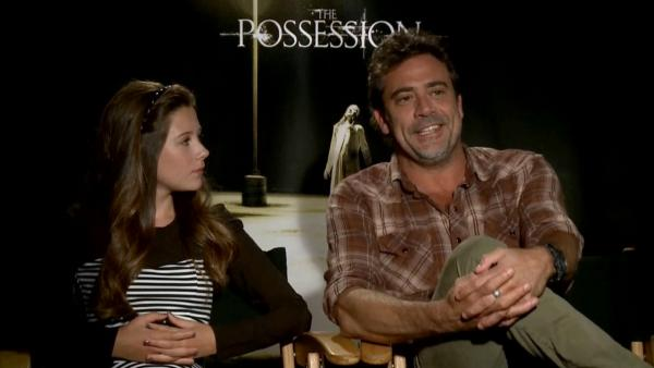 Jeffrey Dean Morgan talks 'The Possession'
