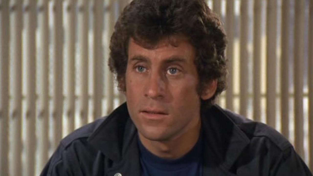 Paul Michael Glaser appears in a still from the 1970s series Starsky and Hutch.