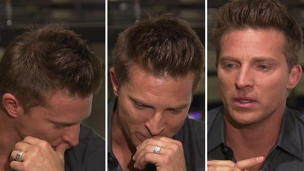 Steve Burton becomes emotional about 'GH' exit