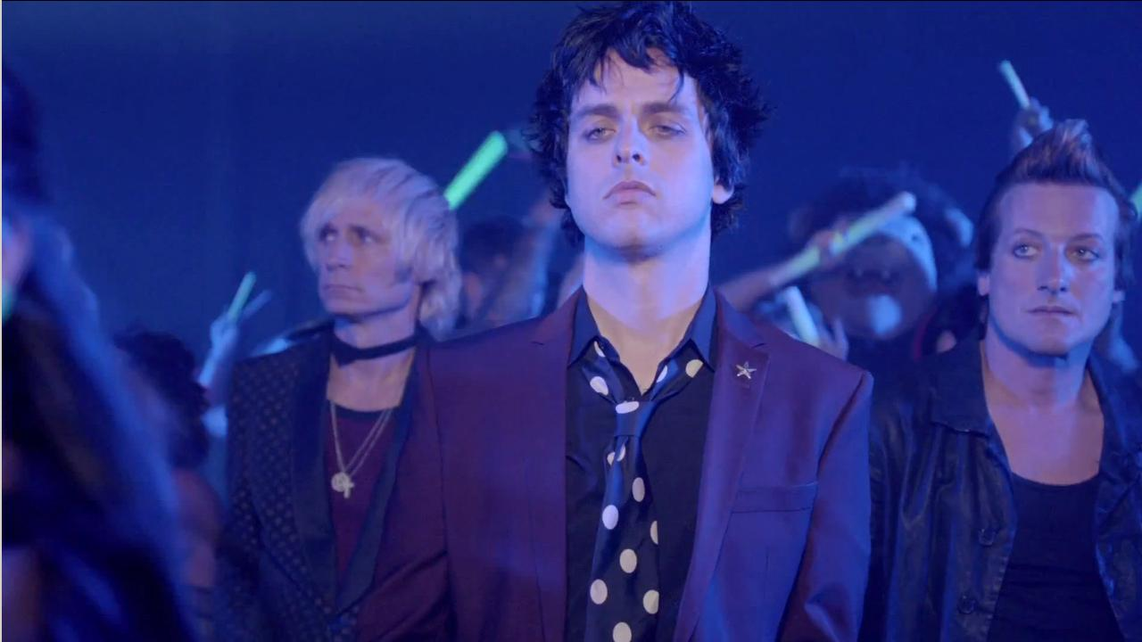 Green Day band members appear in the music video for Kill the DJ released on September 4, 2012.