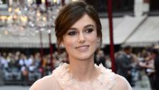 Cast member British actress Keira Knightley poses as she arrives for the world premiere of Anna Karenina in London on Tuesday, Sept. 4, 2012. - Provided courtesy of AP / Sang Tan