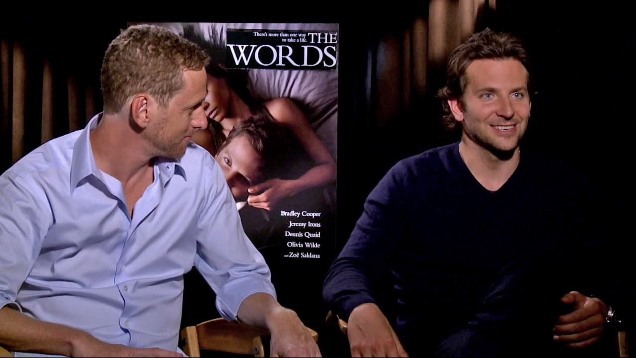 Bradley Cooper and Brian Klugman appears in an interview with OTRC.com with The Words on August 27, 2012.