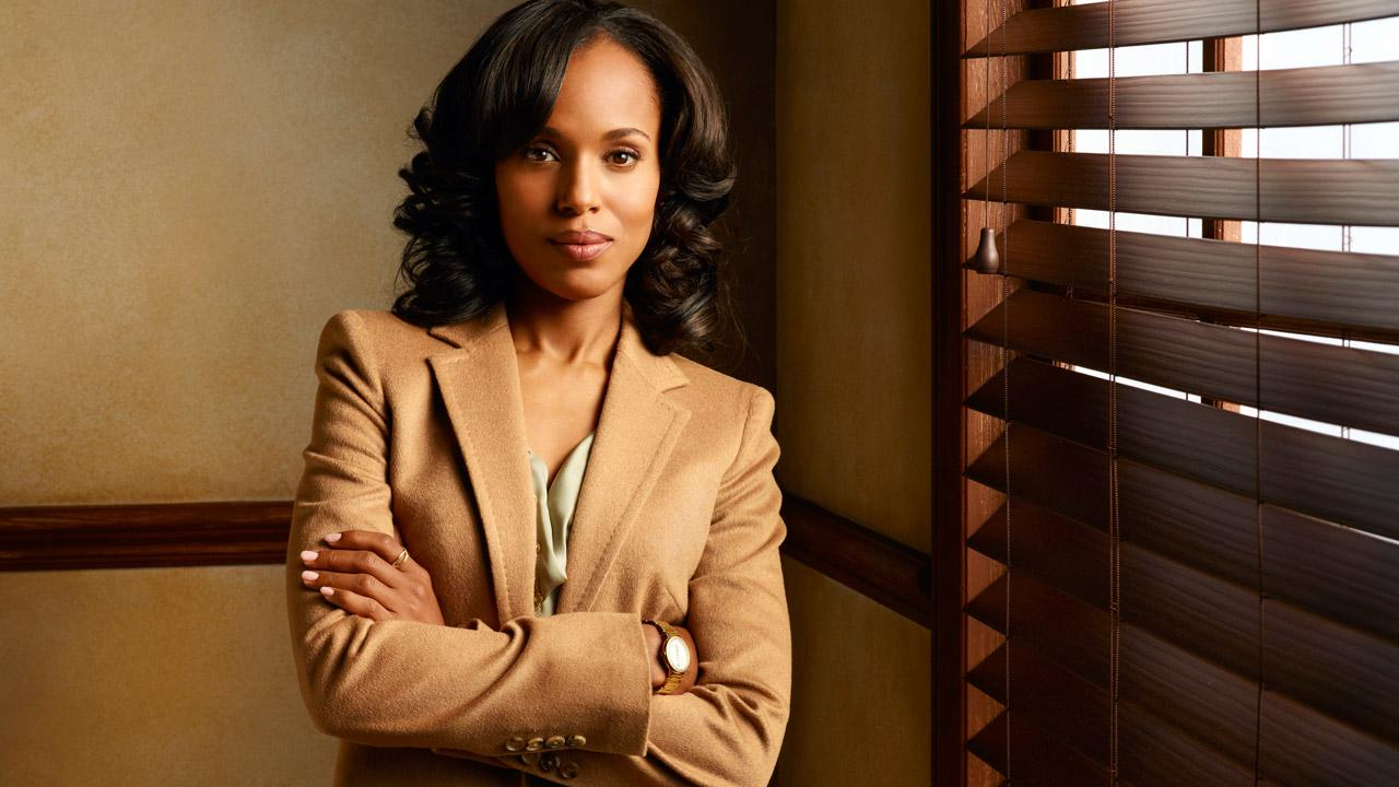 Kerry Washington appears in a promotional photo for ABCs Scandal.ABC / Craig Sjodin