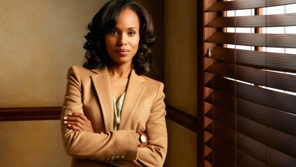 Kerry Washington appears in a promotional photo for ABC's 'Scandal.'
