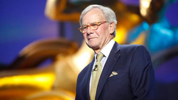 Tom Brokaw appears at NBC News Education Nation Summit in Rockefeller Center in New York on Tuesday, September 27, 2011. - Provided courtesy of Francine Daveta / NBC