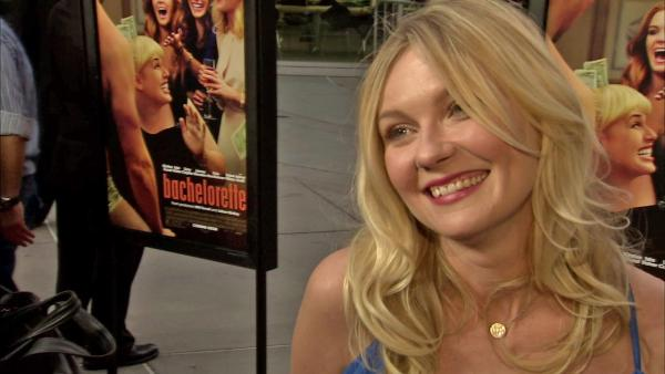 Kirsten Dunst got family to see 'Bachelorette'