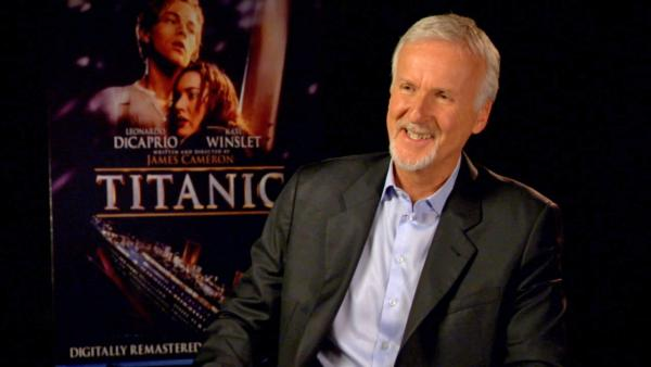 James Cameron talks to OTRC.com on September 5, 2012 about the Titanic 3D DVD release. - Provided courtesy of OTRC