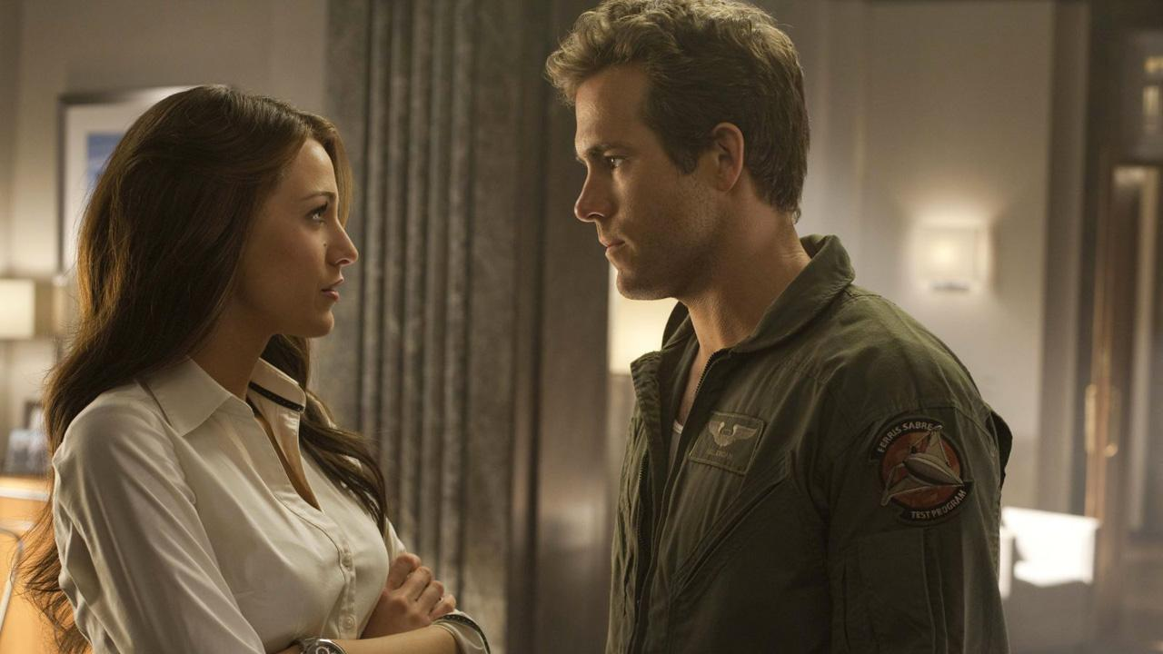 Blake Lively and Ryan Reynolds appear in a scene from the 2011 movie Green Lantern. <span class=meta>(Warner Bros. Pictures)</span>
