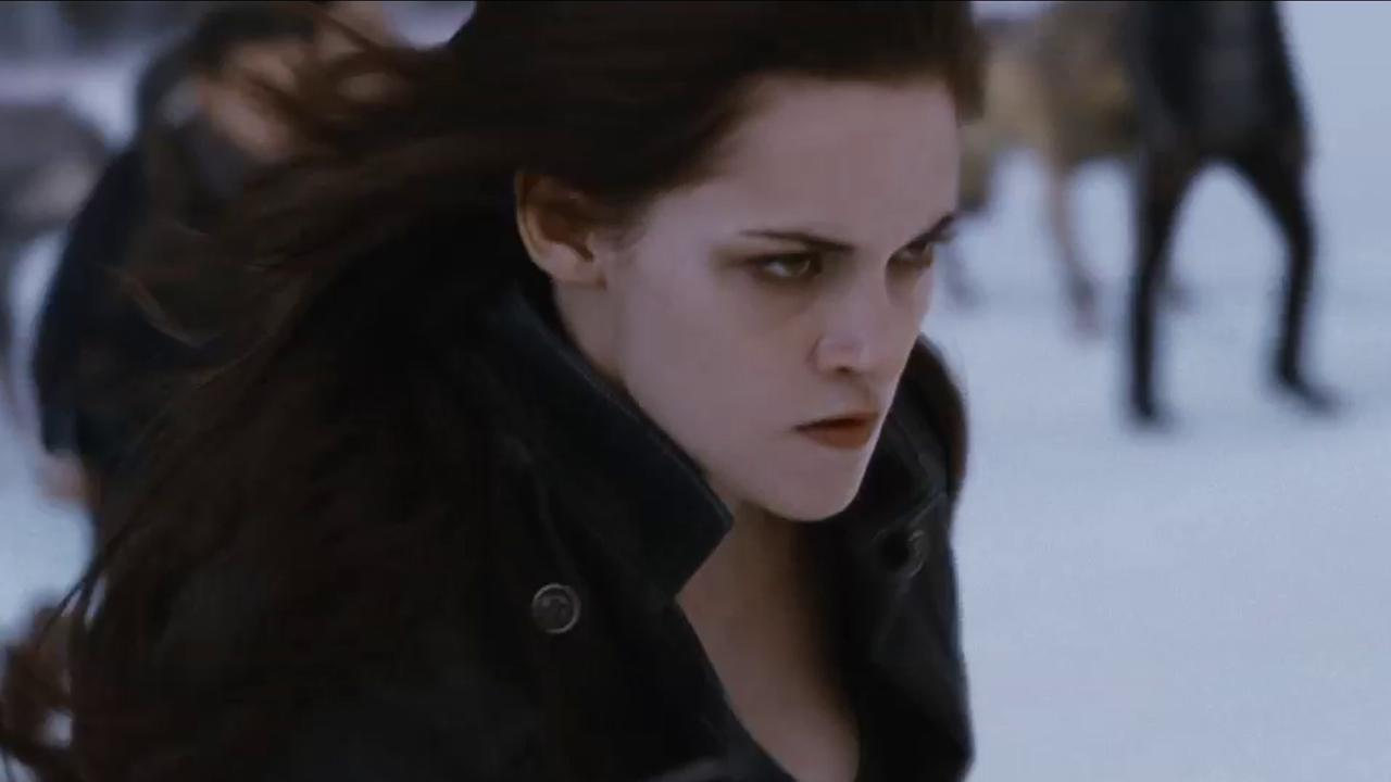 Bella (Kristen Stewart) appears in a scene from the 2012 movie The Twilight Saga: Breaking Dawn - Part 2. <span class=meta>(Summit Entertainment)</span>