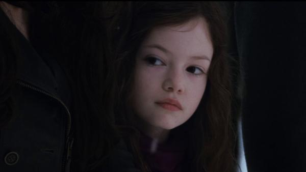 Renesmee (Mackenzie Foy) appears in a scene from the 2012 movie 'The Twilight Saga: Breaking Dawn - Part 2.'