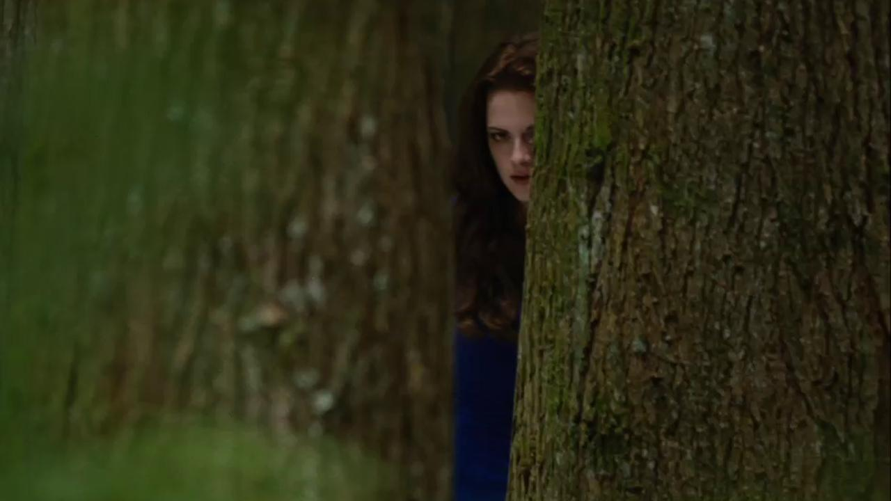 Bella (Kristen Stewart) appears in a scene from the 2012 movie The Twilight Saga: Breaking Dawn - Part 2.Summit Entertainment