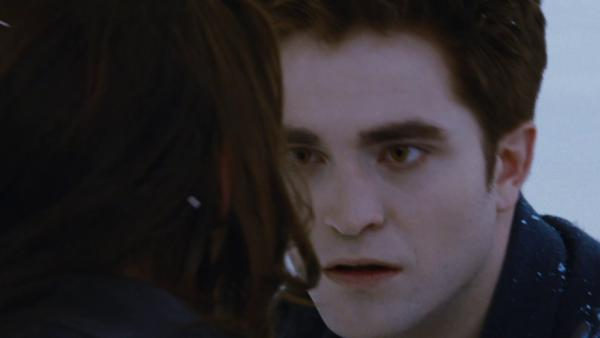 Bella and Edward (Kristen Stewart and Robert Pattinson) appears in a scene from the 2012 movie 'The Twilight Saga: Breaking Dawn - Part 2.'