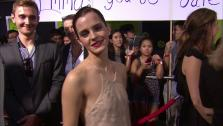 Emma Watson talks to OTRC.com at the premiere of The Perks of Being a Wallflower in Los Angeles on Sept. 10, 2012. - Provided courtesy of OTRC