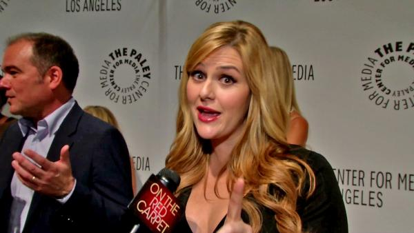 Sara Rue talks to OTRC.com at the Paleyfest Fall Television Preview on Sept. 11, 2012. - Provided courtesy of OTRC / OTRC