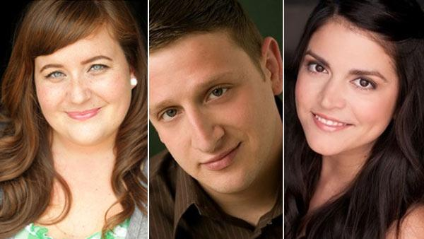 Tim Robinson, Aidy Bryant and Cecily Strong appear in photos posted on Second Citys official website. - Provided courtesy of SecondCity.com/