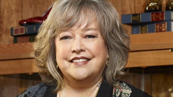 Kathy Bates appear in an undated photo for the NBC series 'Harry's Law,' which ran between 2011 and 2012.