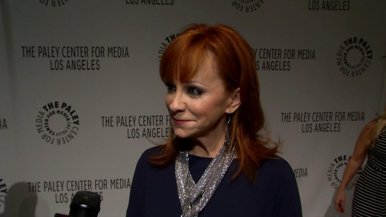 Reba McIntyre talks to OTRC.com at the Paleyfest Fall Television Preview on Sept. 11, 2012.
