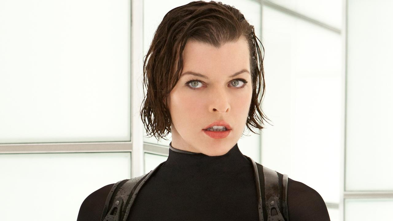 Milla Jovovich appears in a scene from the 2012 film Resident Evil: Retribution.