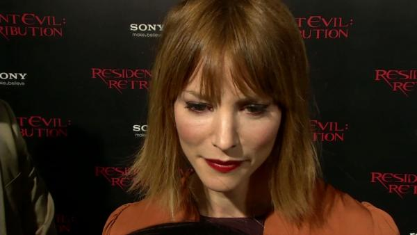 Sienna Guillory talks about 'Resident Evil' journey