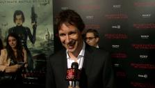 Paul W.S. Anderson appears at the premiere of Resident Evil: Retribution in Los Angeles on September 12, 2012. - Provided courtesy of none / OTRC