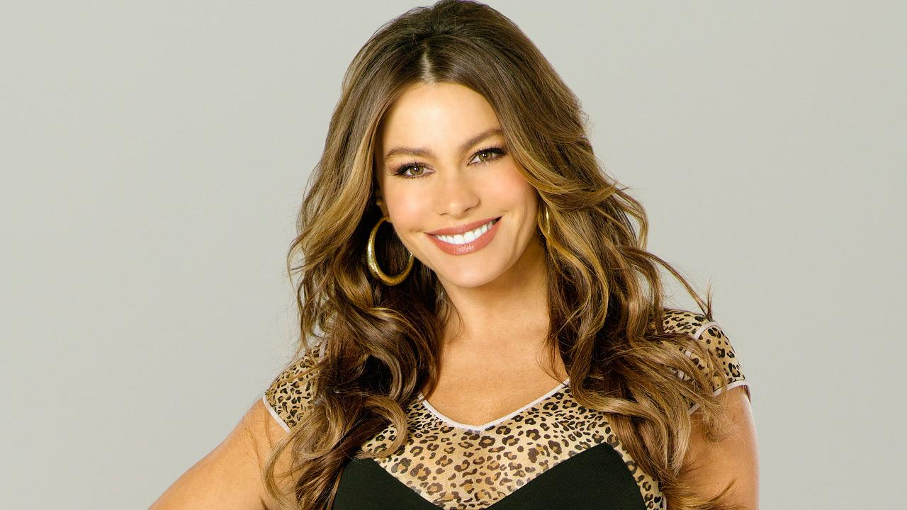 Sofia Vergara appears in a promotional photo for the ABC show Modern Family.