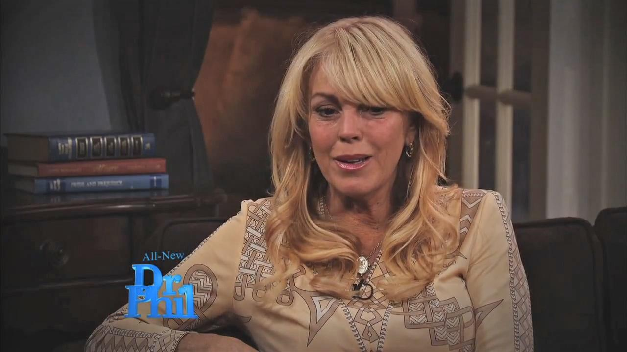 Dina Lohan appears in a still from an episode of Dr. Phil, set to air on September 17, 2012.