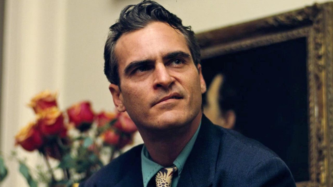 Joaquin Phoenix appears in a still from The Master.