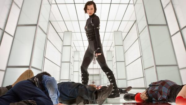 Milla Jovovich appears in a scene from the 2012 film Resident Evil: Retribution. - Provided courtesy of Davis Films/Impact Pictures (RE5) Inc. and Constantin Film International GmbH.