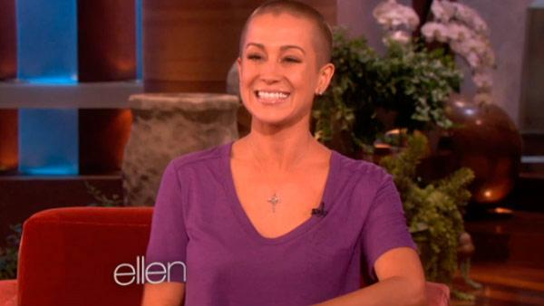 Kellie Pickler appears on The Ellen DeGeneres Show in an episode that aired on September 14, 2012. - Provided courtesy of NBC