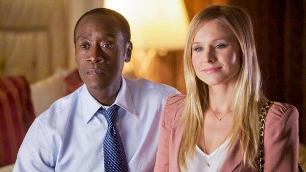Don Cheadle and Kristen Ball appear in a scene from the Showtime series House of Lies in 2011. - Provided courtesy of Showtime