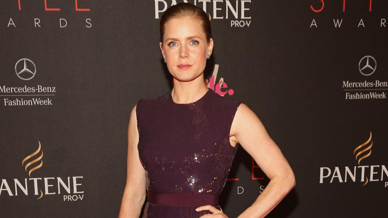 Amy Adams attends Mercedes-Benz Fashion Week on Sept. 5, 2012 in New York.
