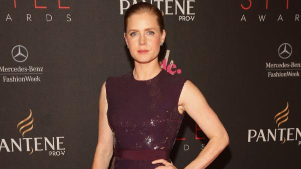 Amy Adams attends Mercedes-Benz Fashion Week on Sept. 5, 2012 in New York. - Provided courtesy of  Michael Buckner/ Getty Images for Mercedes-Benz