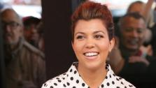 Kourtney Kardashian appears on Good Morning America in September 2012. - Provided courtesy of ABC
