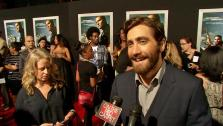 Jake Gyllenhaal talks to OTRC.com at the Hollywood premiere of End of Watch. - Provided courtesy of OTRC