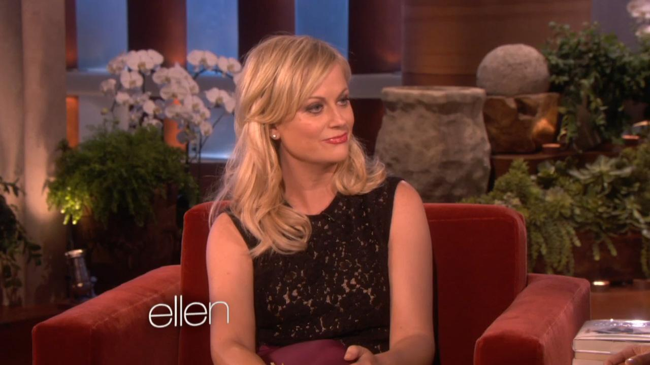 Amy Poehler appears in a still from a September 20 episode of Ellen.