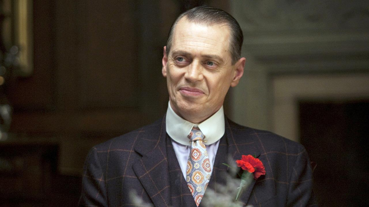 Steve Buscemi appears in a scene from the third season of the HBO series Boardwalk Empire.