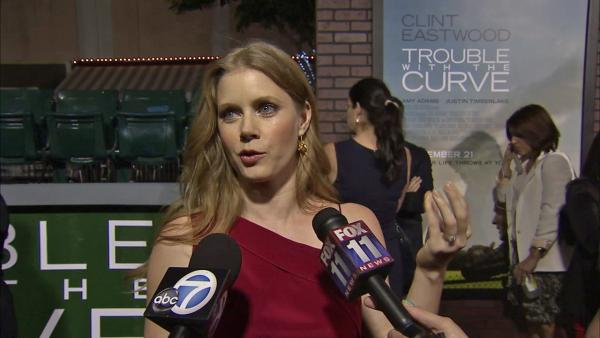 Amy Adams talks to OTRC.com at the September 19 premiere of Trouble with the Curve. - Provided courtesy of OTRC