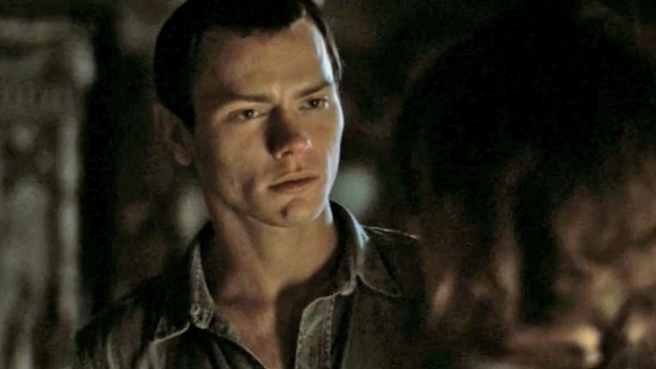 River Phoenix appears in a still from the 1993 film, Dark Blood.