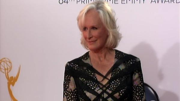 Glenn Close dazzles the Emmys red carpet