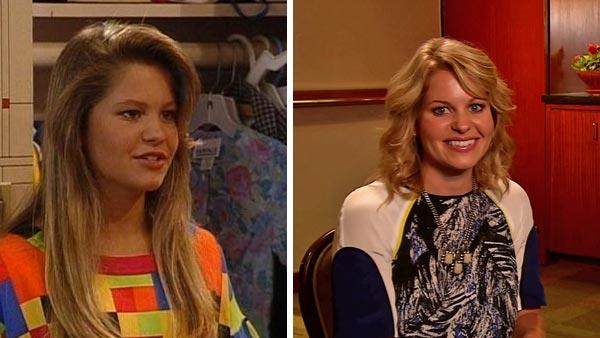 Candace Cameron Bure appears in a scene from the TV series 'Full House.' / Candace Cameron Bure talks to OTRC.com about her new Hallmark film, 'Puppy Love,' which premiered on Sept. 8, 2012.