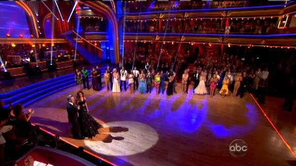 The cast appears in a still from the season premiere of 'Dancing With The Stars: All-Stars,' which aired on September 24, 2012.
