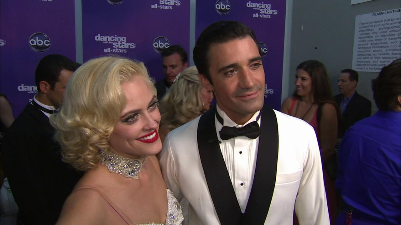 Gilles Marini and Peta Murgatroyd talk to OTRC.com after the September 24, 2012 episode of Dancing With The Stars.