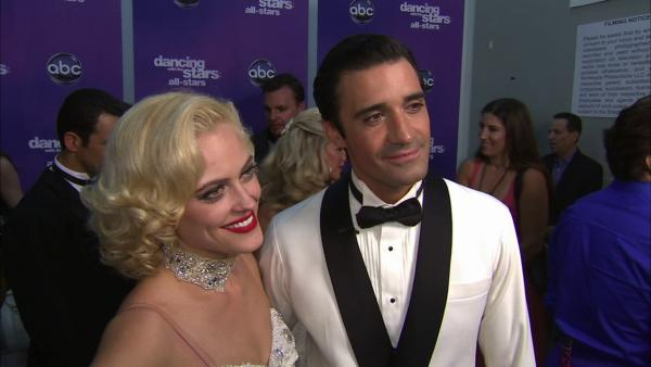 Gilles Marini and Peta Murgatroyd talk to OTRC.com after the September 24, 2012 episode of 'Dancing With The Stars.'