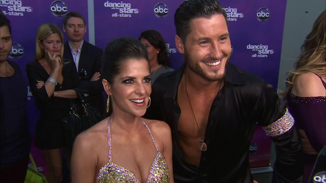 Kelly Monaco and Valentin Chmerkovskiy talk to OTRC.com after the September 24, 2012 episode of Dancing With The Stars.
