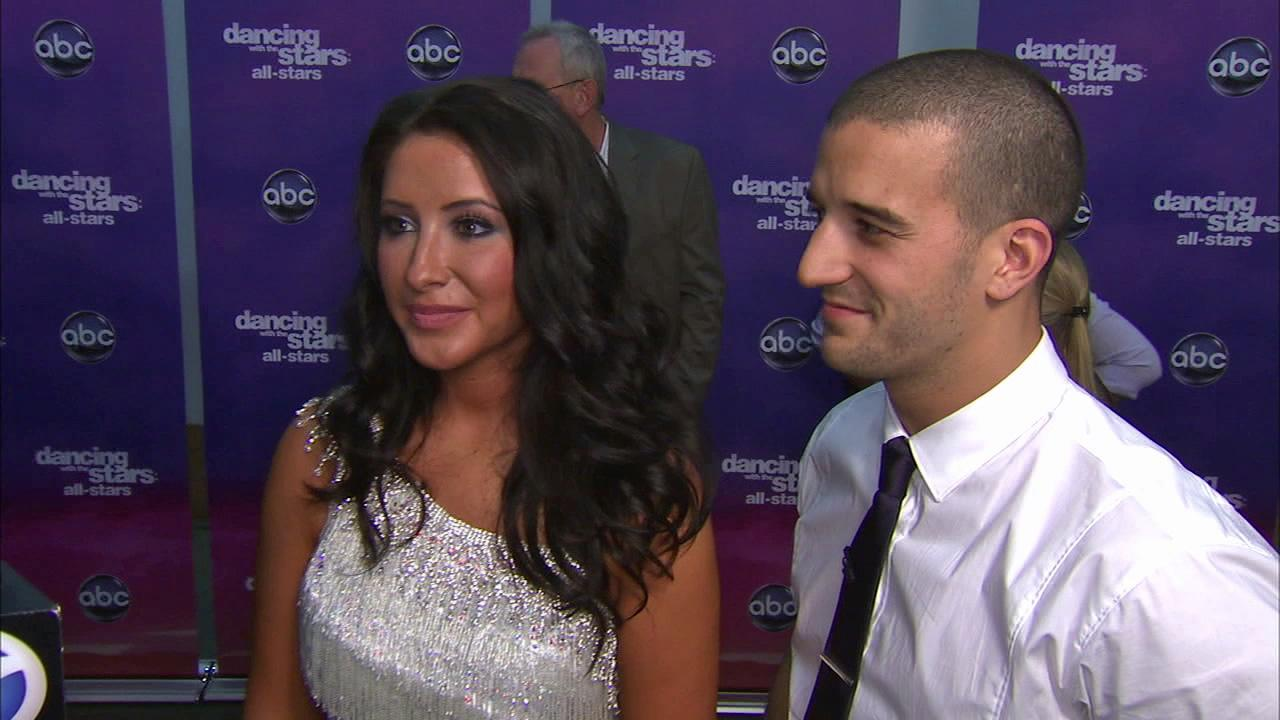 Bristol Palin and Mark Ballas talk to OTRC.com after the September 24, 2012 episode of Dancing With The Stars.